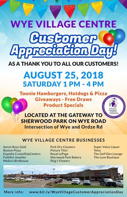 Wye Village Customer Appreciation Day