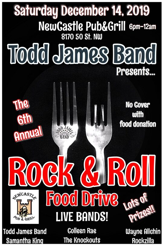 Rock n Roll Food Drive - Todd James